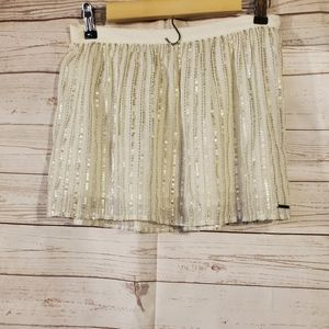 Abercrombie & Fitch Sequin Mini Skirt